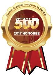 Jardim, Meisner & Susser, Law Firm 500 Award