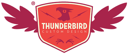 thunderbird custom design custom logo
