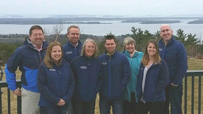Cribstone Capital Management team on retreat.
