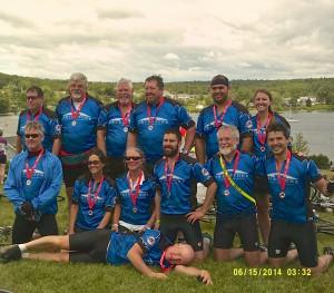 Trek Across Maine 2014