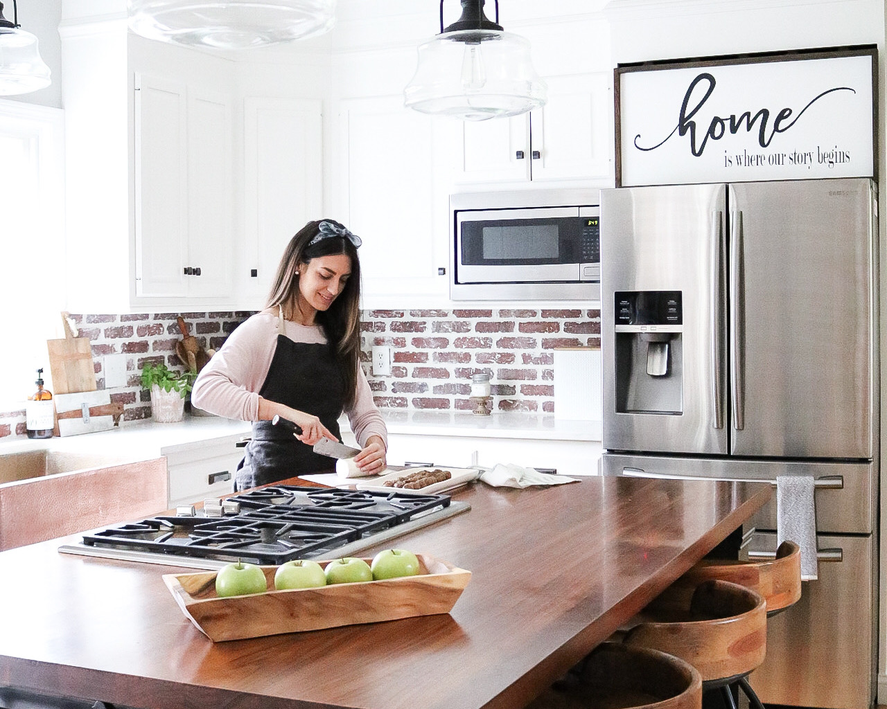 In the Kitchen with Samsung Home Appliances