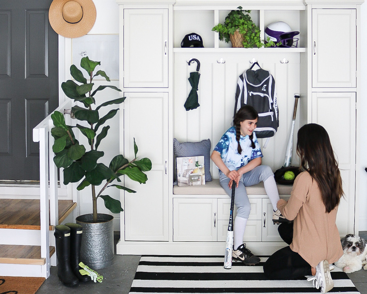 Creating A Garage Mudroom
