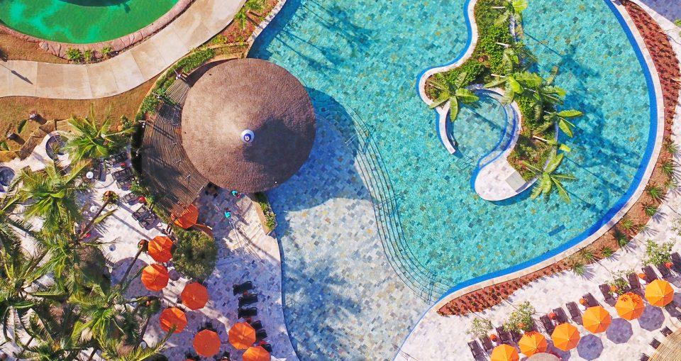 Hot Beach, novo parque da Estância Turística de Olímpia, é inaugurado com festa