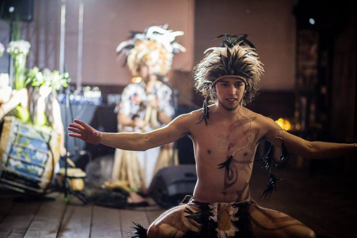 Olímpia - Grupo Folclórico do Chile visita a Capital Nacional do Folclore