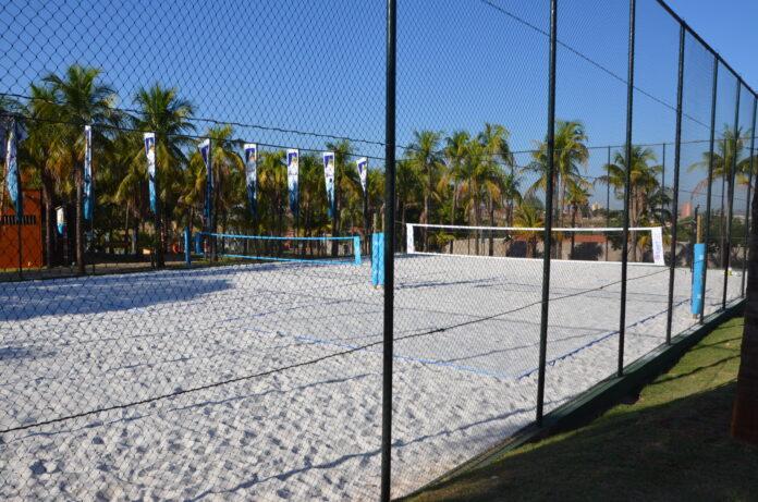 Arena Hot Beach possui tecnologia iSuperQuadra Jundu, que eleva o conforto e maximiza a performance