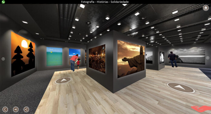 Fotógrafo organiza exposição virtual 360 graus interativa de cunho solidário