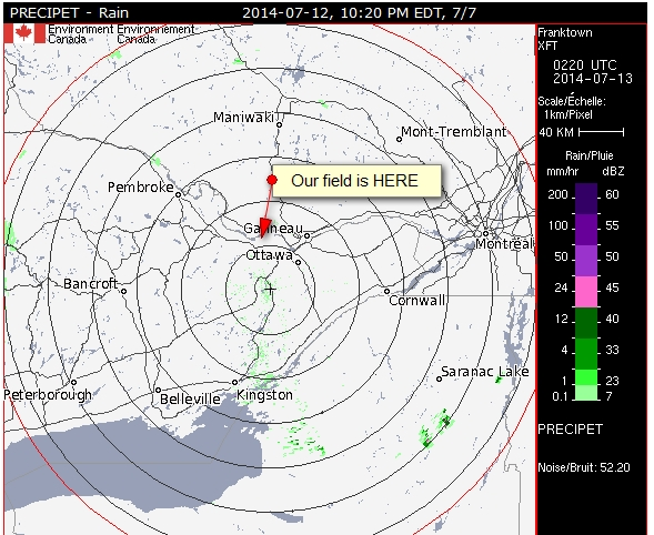 Frantown Radar Map