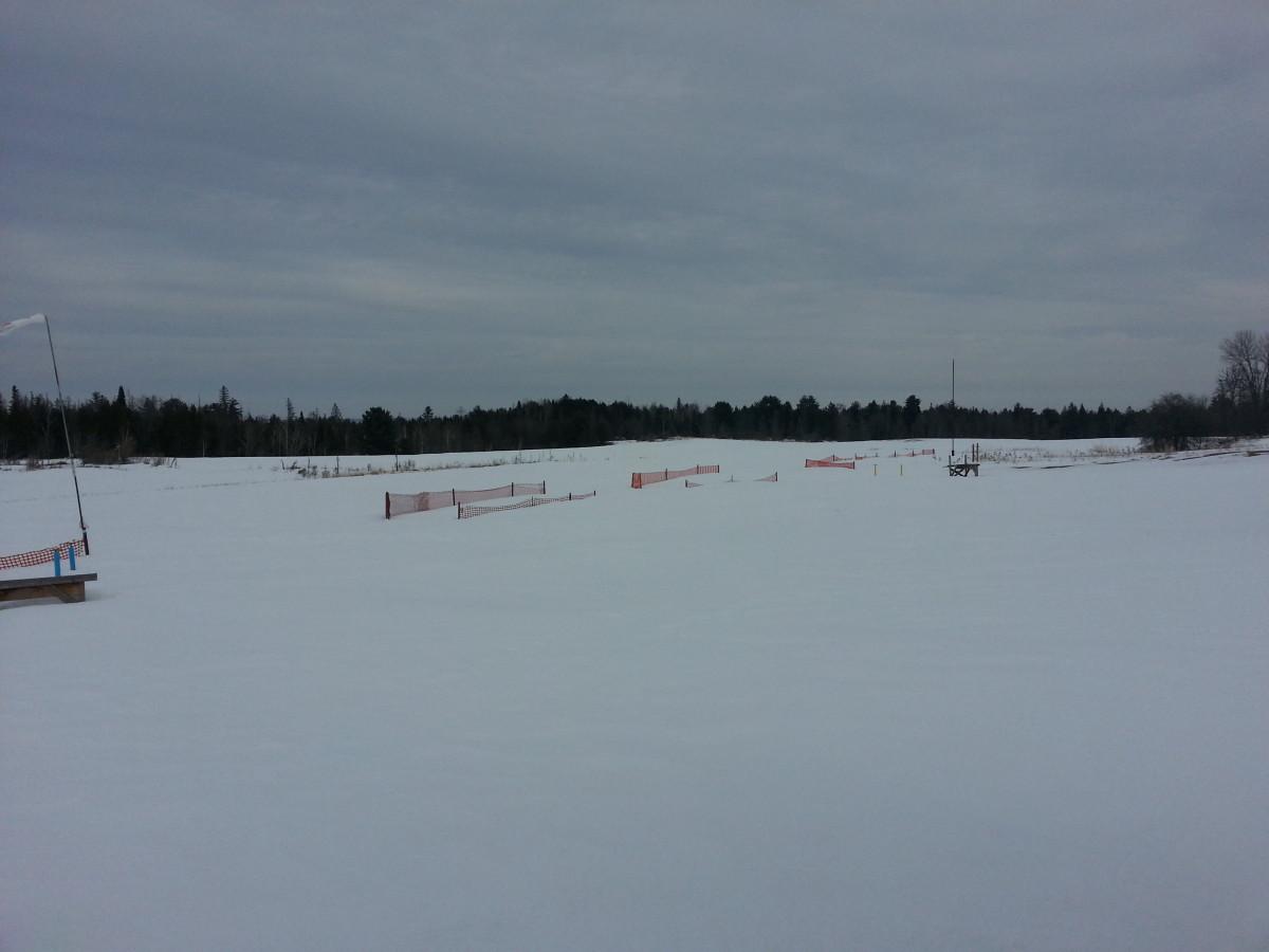 Field Still Snowy
