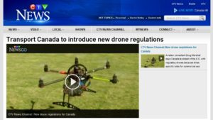 CTV Transport canada drone regulations
