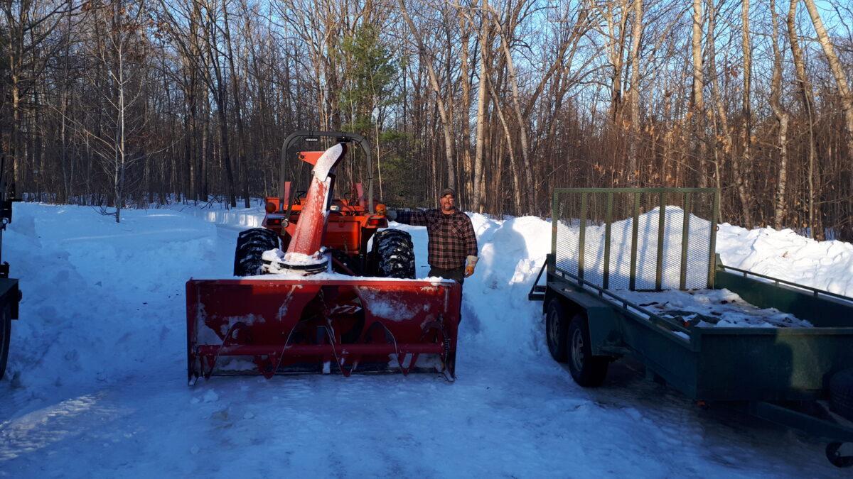 Winter Road Opening