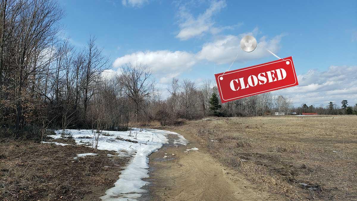 Closed but close