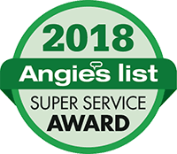 2018 Angie's List Super Service Award Logo