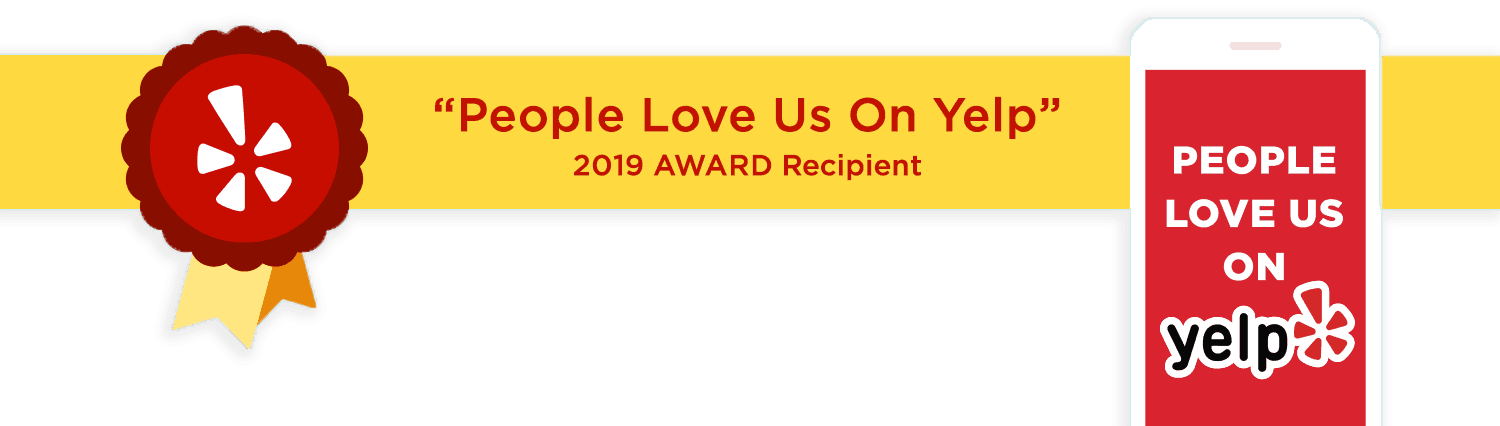 People Love Us On Yelp 2019 Award Recipient Seal