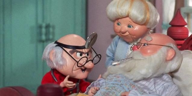 Oh no! Santa has the Gout…..