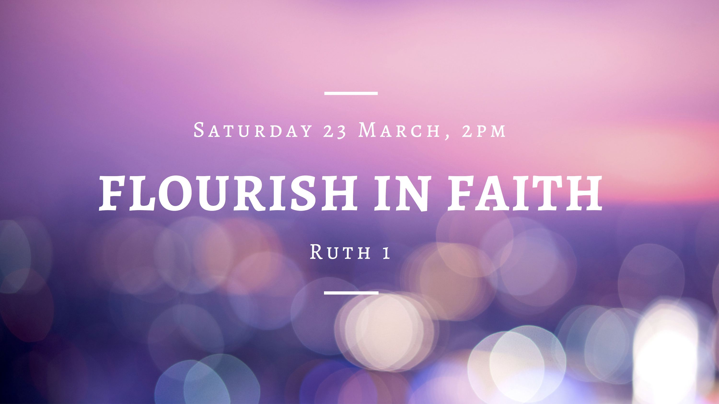 Flourish in Faith