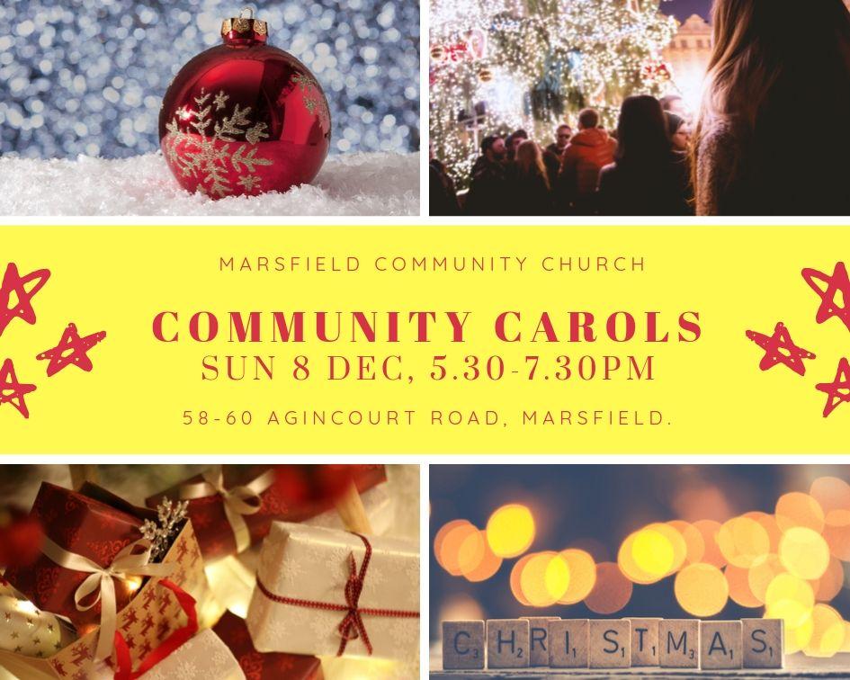 Community Carols 8 December 2019