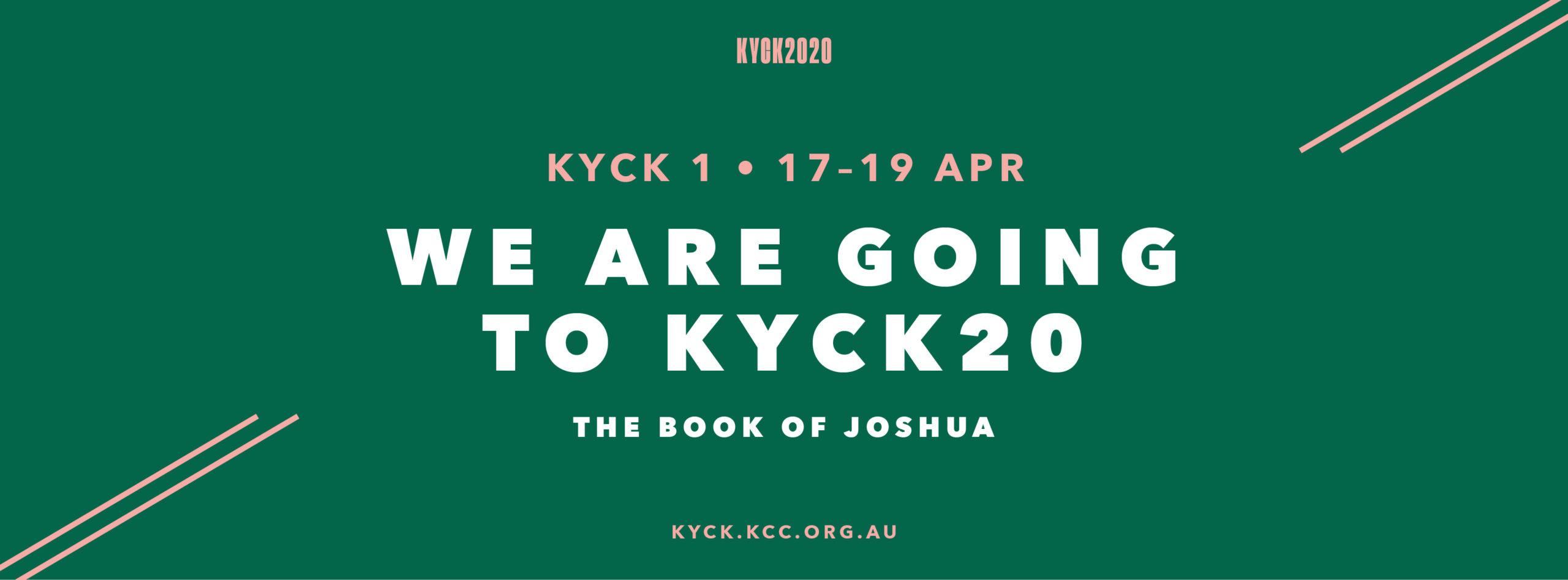 KYCK20 17-19 April 2020 – suspended