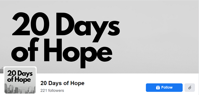 Daily Devotions – 20 Days of Hope