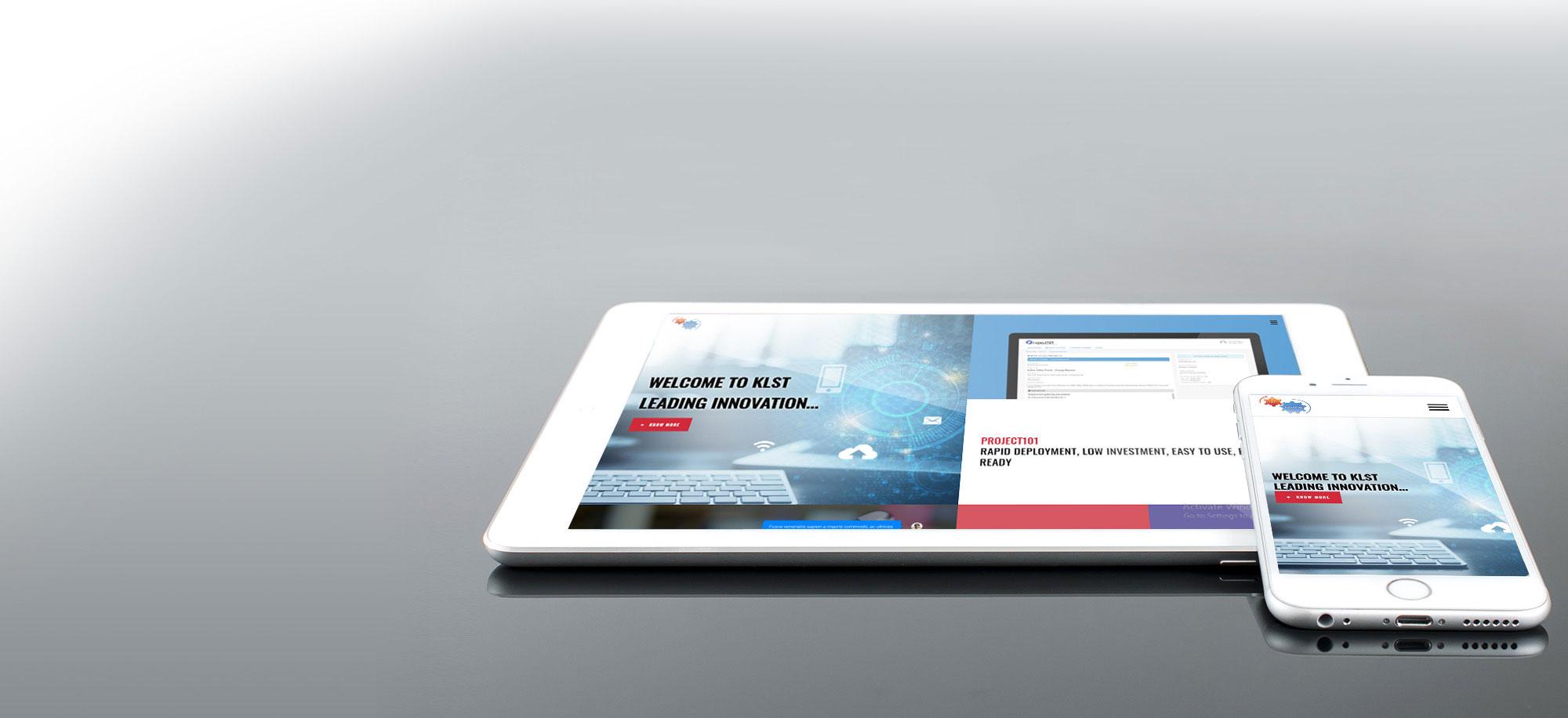 KLST site responsive