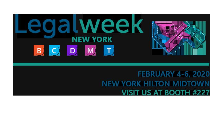 Legal week details