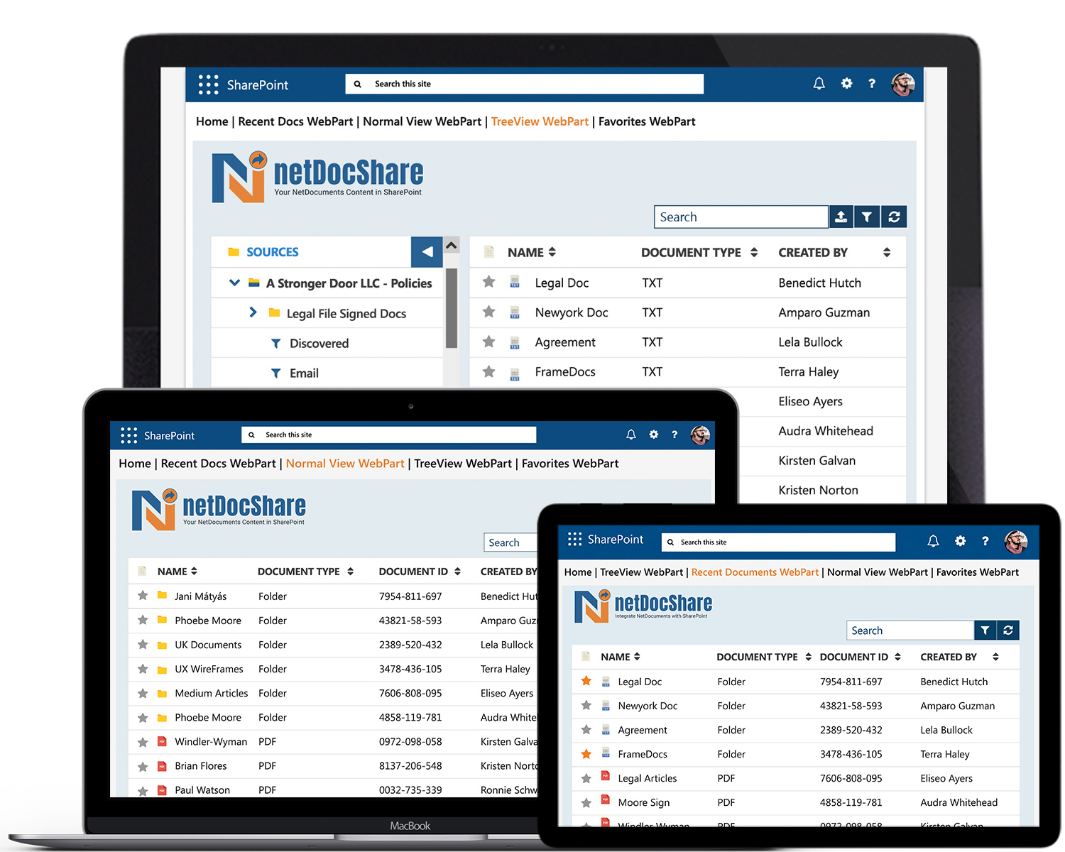 netDocShare-Resposive-Desktop-iPad-laptop