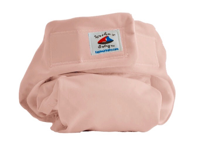 Eco Plush Bamboo One Size Pocket Diaper- Pearl