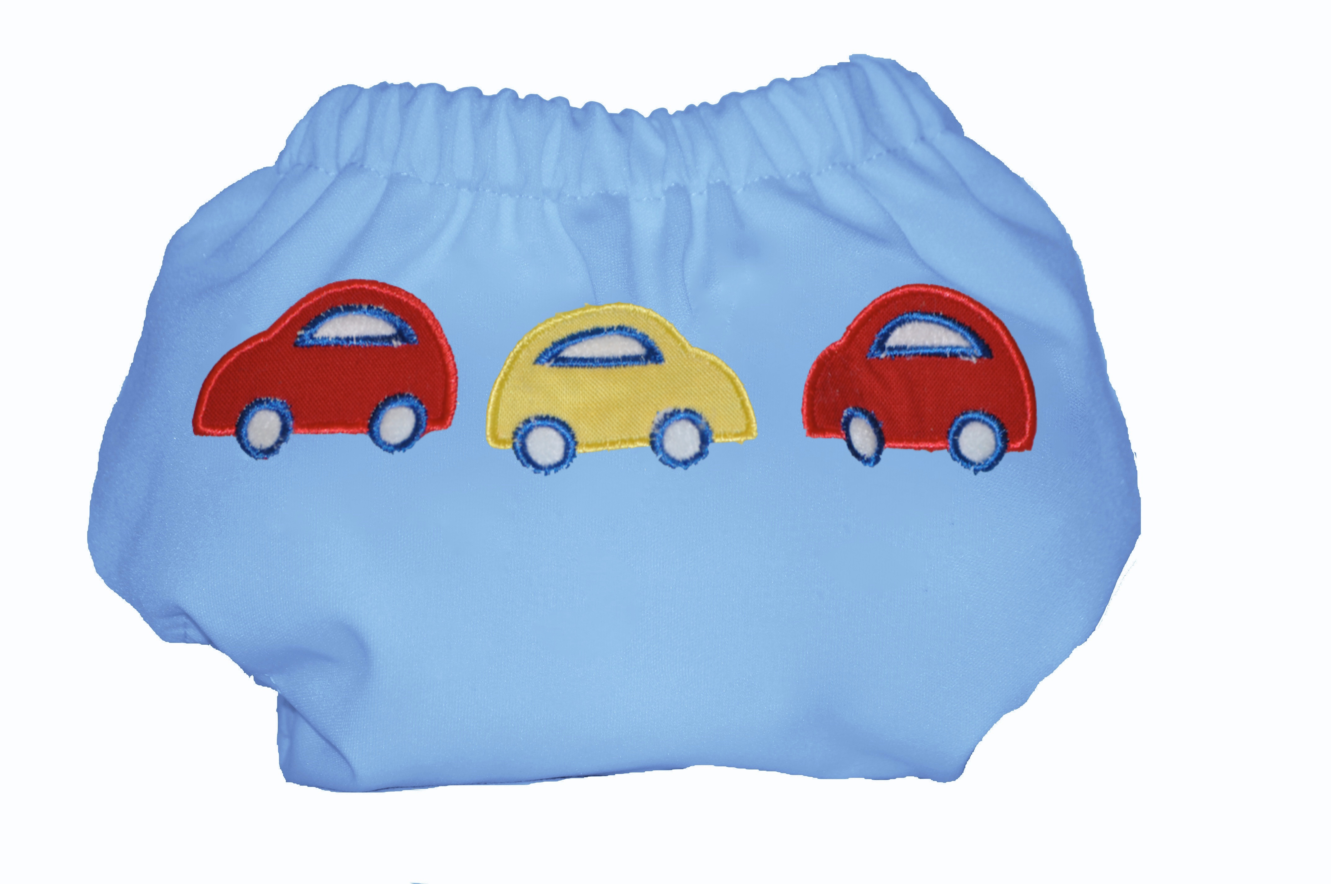 Eco Plush Bamboo One Size Pocket Diaper - Cars