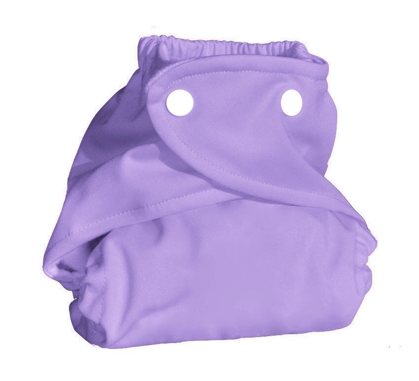 Eco Plush Bamboo One Size Pocket Diaper - Lavender