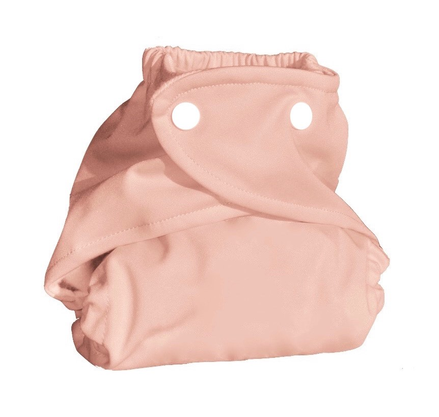 Eco Plush Bamboo One Size Pocket Diaper- Velvet