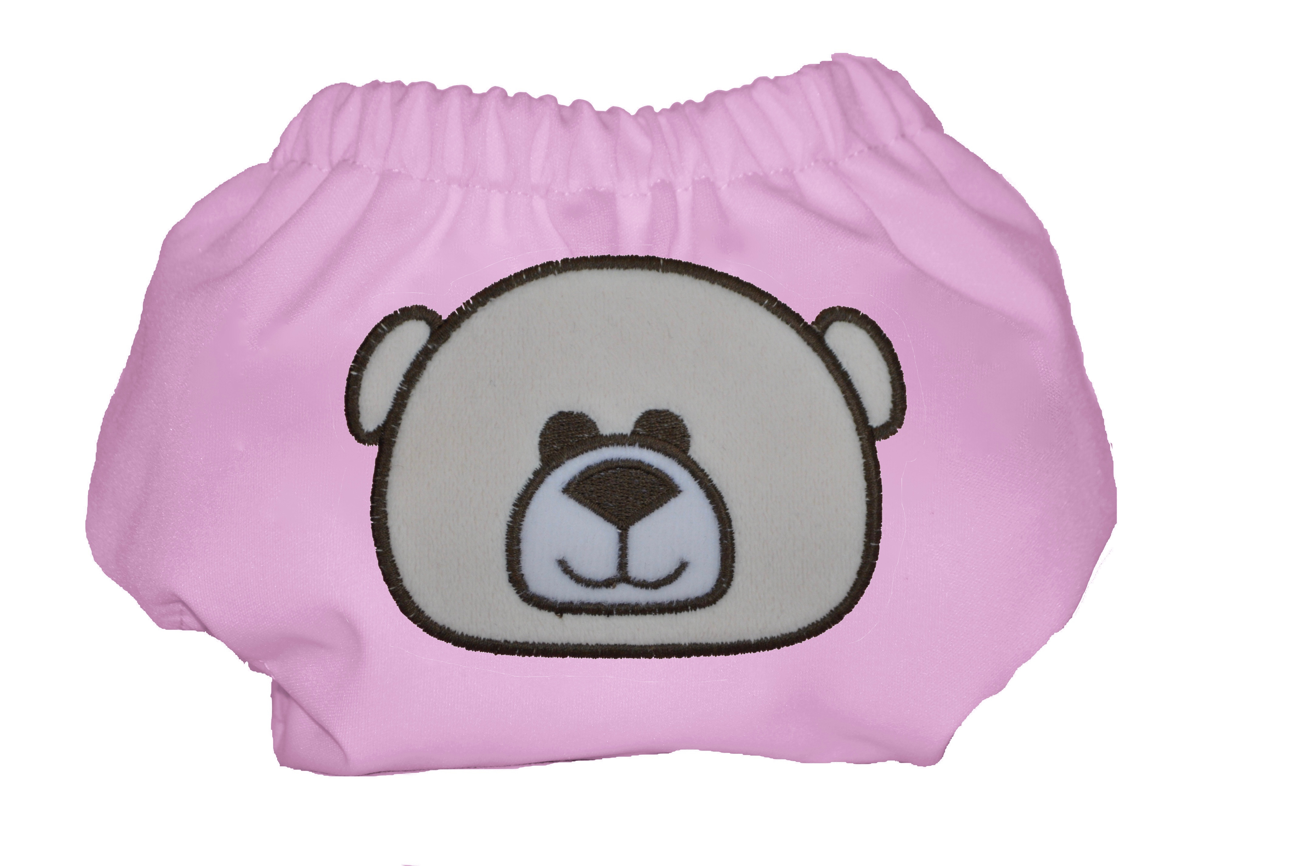 Eco Plush Bamboo One Size Pocket Diaper- Kisses