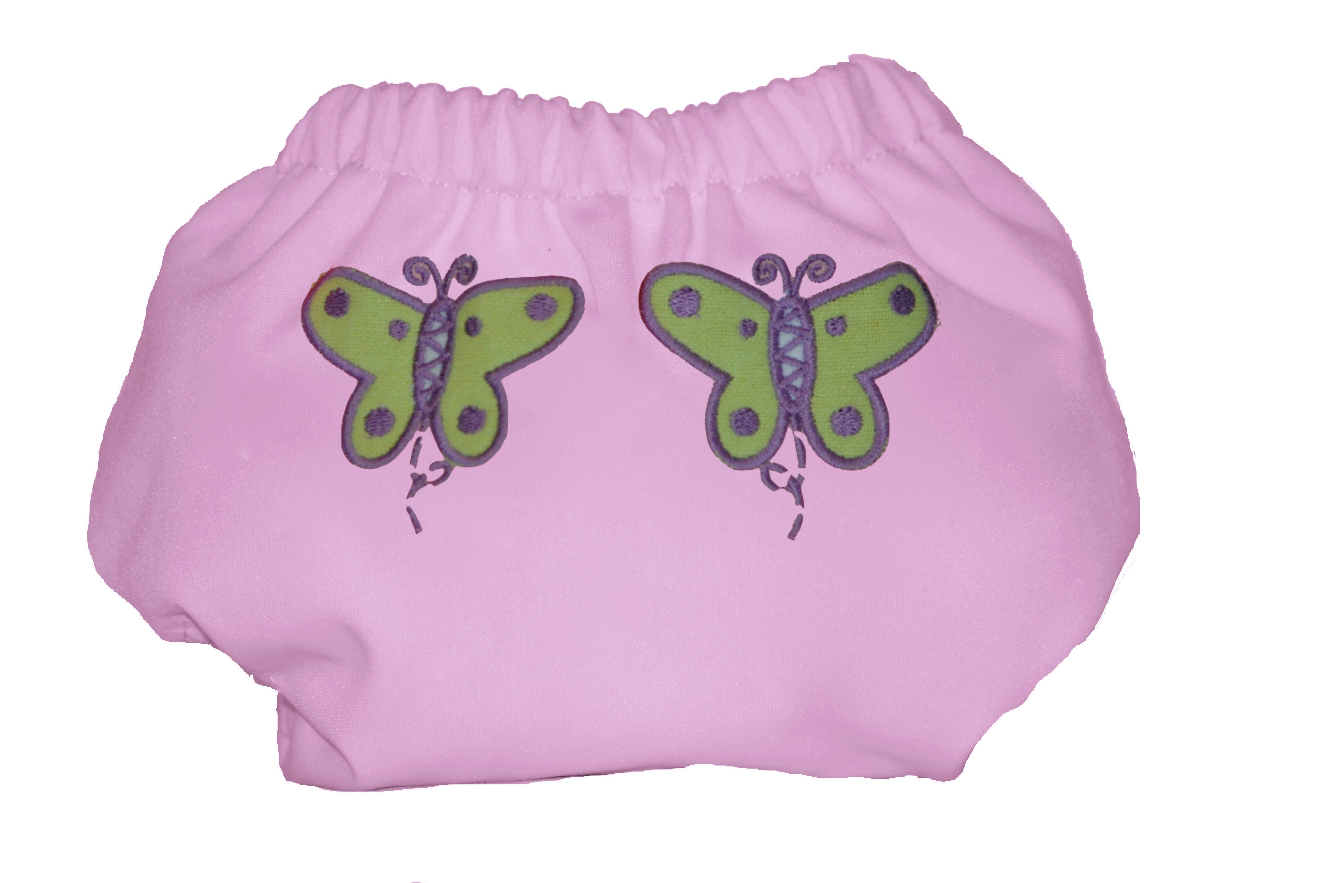 Eco Plush Bamboo One Size Pocket Diaper- Tinkerbell