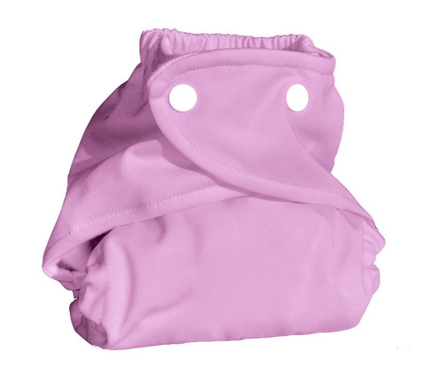 Eco Plush Bamboo One Size Pocket Diaper- Pretty in Pink