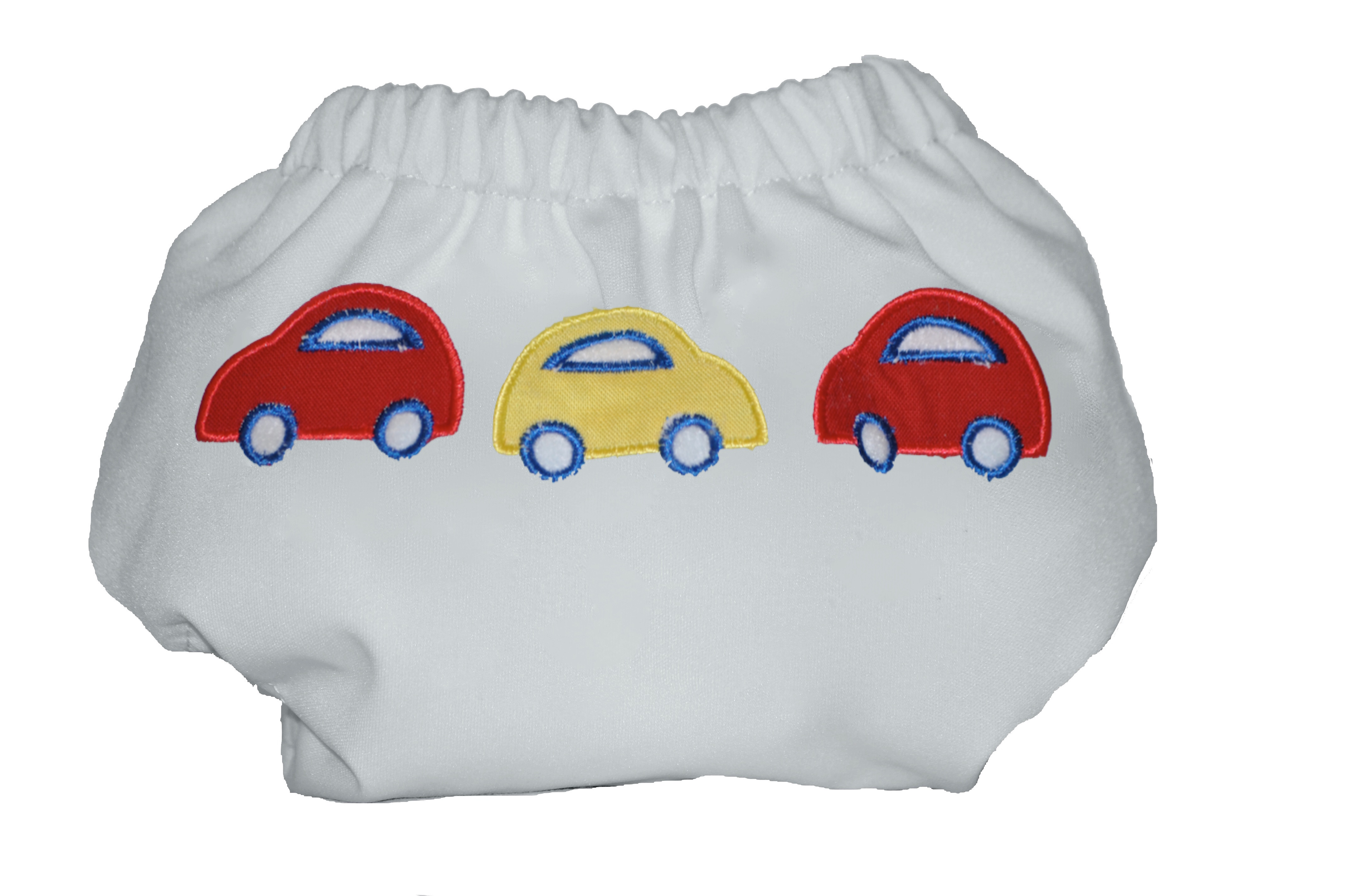 Eco Plush Bamboo One Size Pocket Diaper- Beep! Beep!