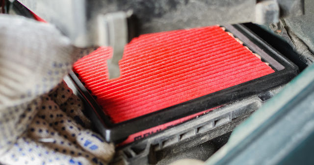 installing your own engine air filter is easy
