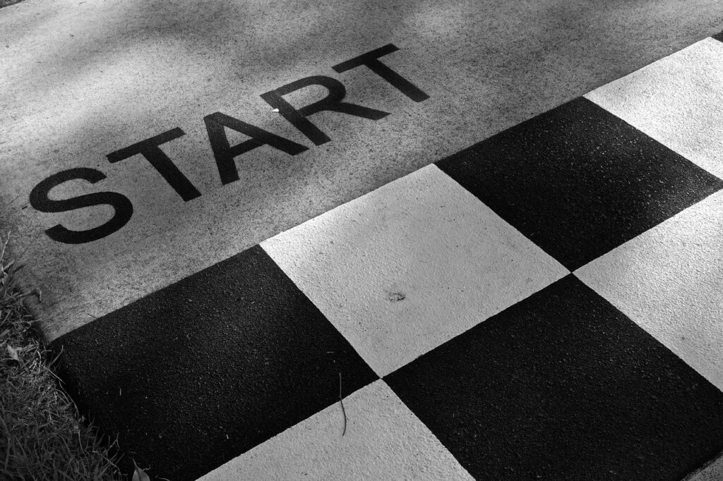 start, ready, competition
