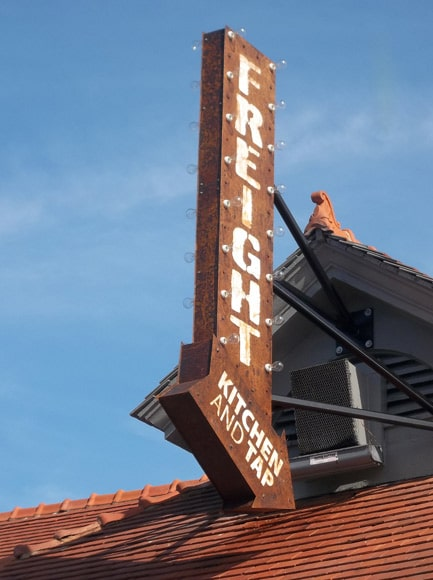 Option Signs Alpharetta Georgia Bar and Tap Restaurant Custom Sign