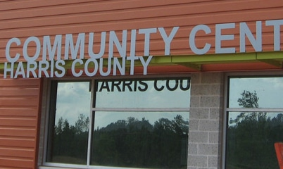 Option Signs Custom Signs Community Center Harris County