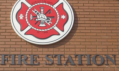 Option Signs Custom Signs Fire and Poilice Station