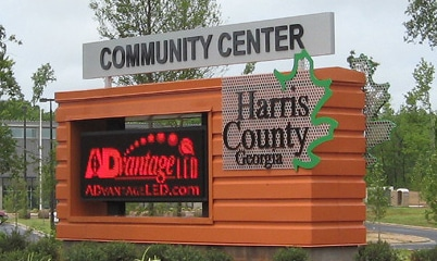 Option Signs Custom Signs Community Center
