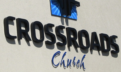 Option Signs Custom Signs Church Crossroads