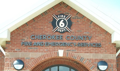 Option Signs Custom Signs Atlanta Fire and Emergency Services Cherokee County