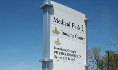 Option Signs Custom Signs Atlanta Alabama Hospital