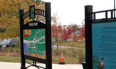 Option Signs Custom Signs Trail Maps and IDs