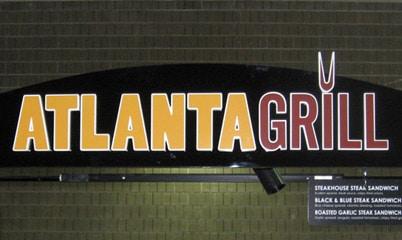 Option Signs Custom Signs Restaurant Atlanta Grill