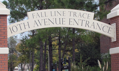 Option Signs Custom Signs Fall Line Trace10th Avenue Entrance