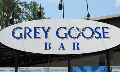 Option Signs Custom Signs Bar and Restaurant Grey Goose