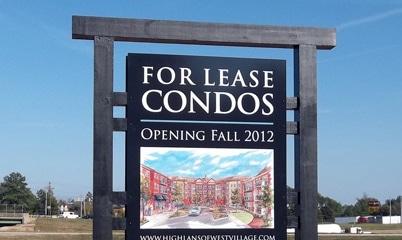 Option Signs Custom Signs North Carolina Condominiums For Sale
