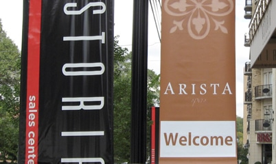 Option Signs Custom Signs Retail Blade Signs Arista