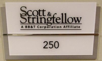 Option Signs Custom Signs ADA Scott & Stringfellow