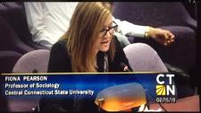 Watch Fiona Pearson testify here